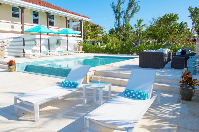 Villla Bashert vacation rental villa, Chalk Sound, Turks and Caicos