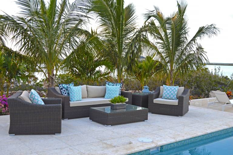 Villa Bashert is a 3-bedroom waterfront villa for rent in Turks and Caicos