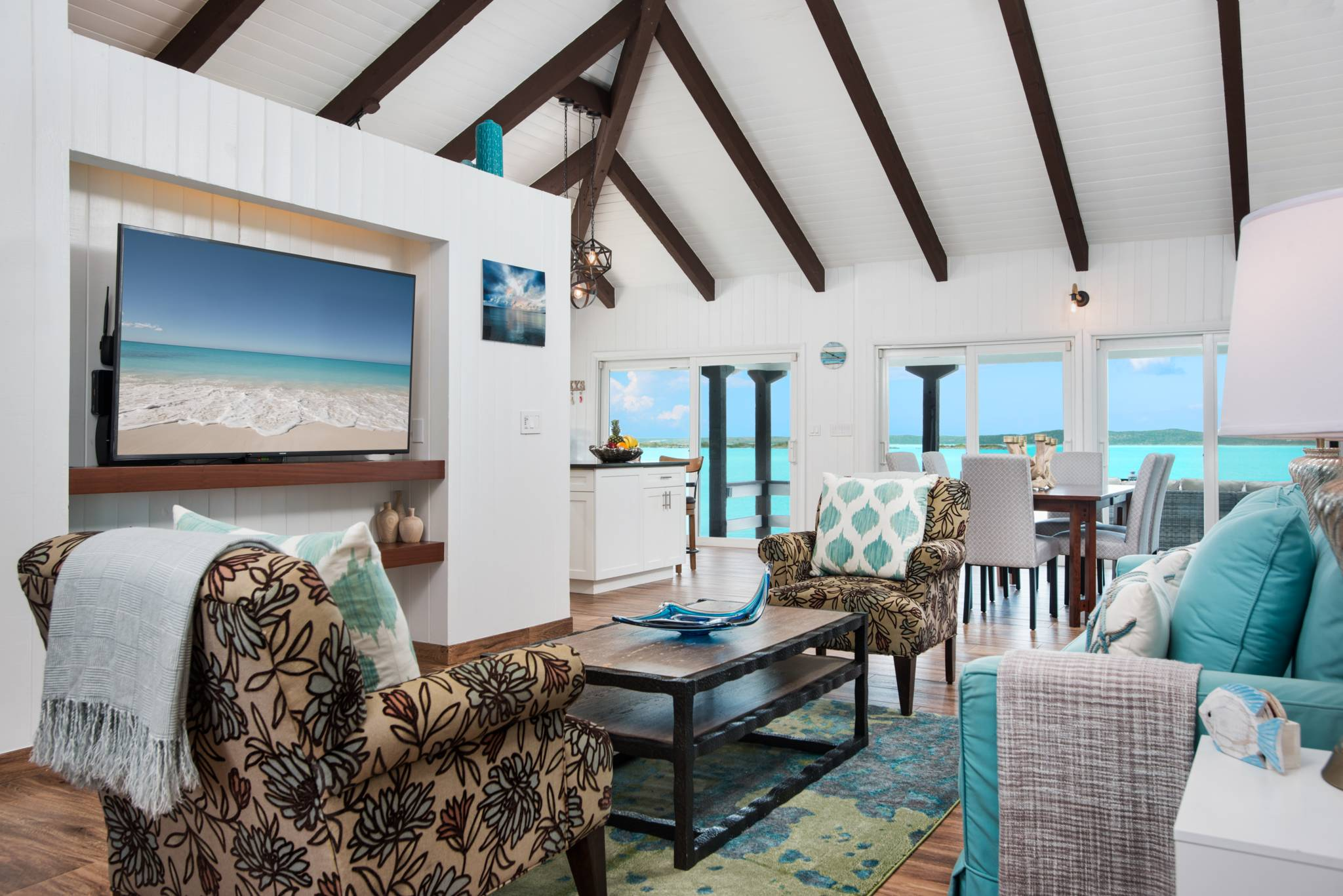 Villa Bashert a waterfront vacation rental villa on Chalk Sound, Providenciales