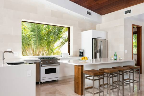 Beach Kandi villa European style kitchen