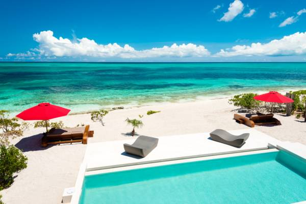 Beach Kandi a two-bedroom beachfront rental villa in Providenciales