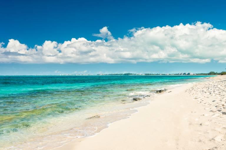 Beach Villa Paprika on Grace Bay Beach offers good snorkeling on Smith's Reef