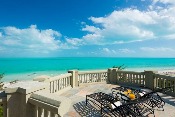 Casa Varnishkes  private beachfront and tennis villa on Long Bay Beach Turks and Caicos Islands