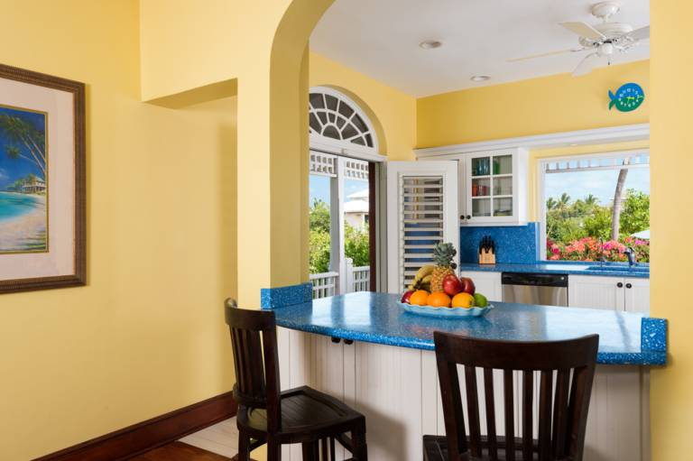 Caribbean-style living at this Providenciales vacation home for rent at Etoile de Mer
