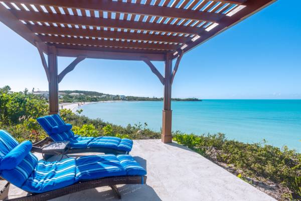 La Koubba beachfront villa on Sapodilla Beach, Turks and Caicos