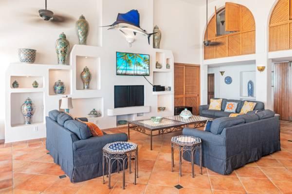 La Koubba Villa Great Room, Sapodilla Beach, Turks and Caicos