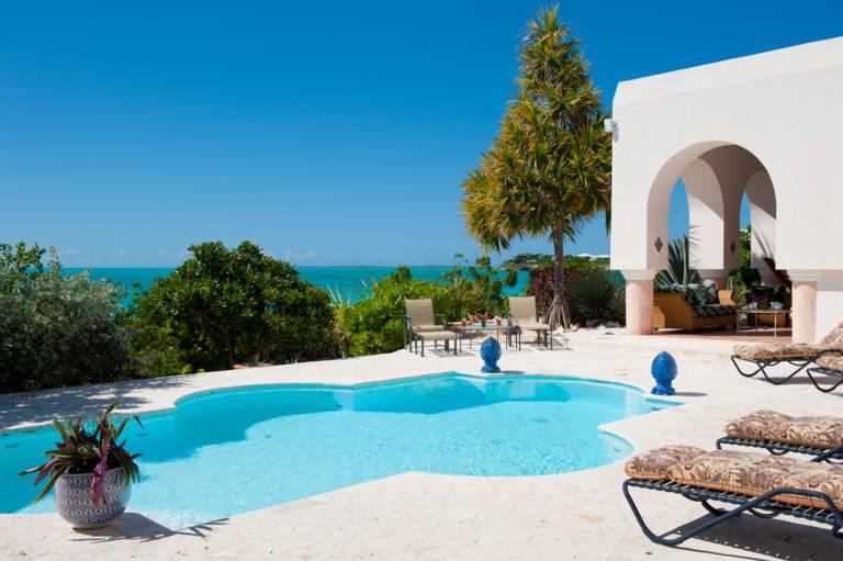 La Koubba Villa -  7-bedroom beachfront on Sapodilla Bay, Chalk Sound, Providenciales