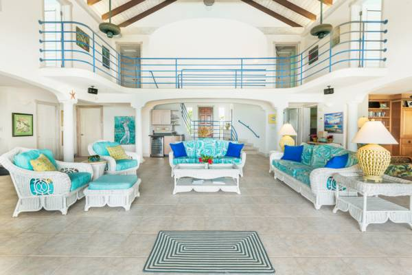 Serenity House on Grace Bay Turks and Caicos rental villa
